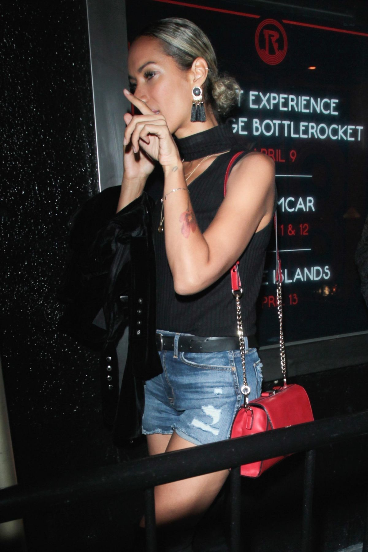 LEONA LEWIS Night Out in Hollywood 06/23/2017