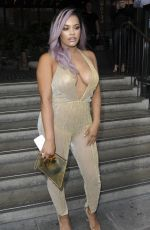 LETISHA GREY at Miss Pap Launch Party in London 06/01/2017