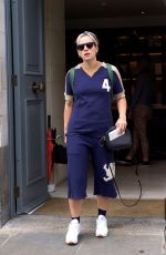 LILY ALLEN Leaves a Gym in London 06/15/2017