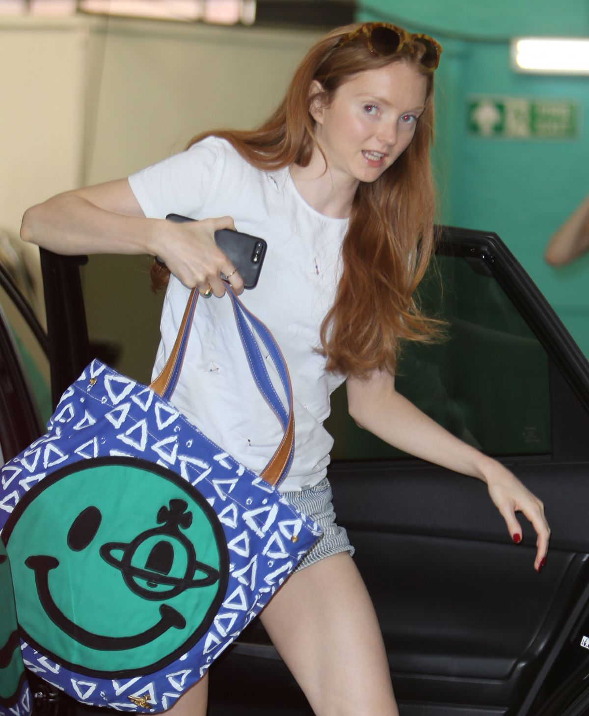 LILY COLE at ITV Studios in London 06/14/2017