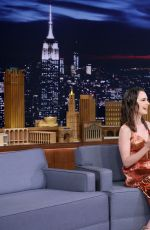 LILY COLLINS at Tonight Show Starring Jimmy Fallon in New York 06/27/2017