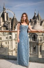 LILY JAMES at Baby Driver Photocall in London 06/21/2017