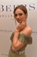 LILY JAMES at De Beers Store Opening in London 06/08/2017