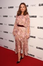 LILY JAMES at Glamour Women of the Year Awards in London 06/06/2017