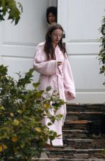 LILY MO SHEEN Leaves Her Home in Los Angeles 06/24/2017