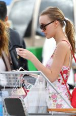 LILY-ROSE DEPP Out Shopping in Los Angeles 06/11/2017