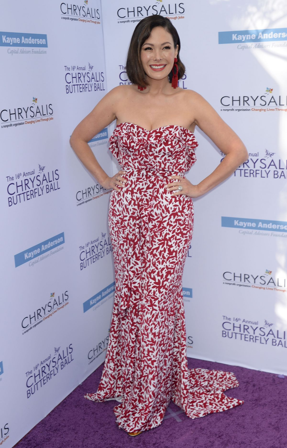 LINDSAY PRICE at 16th Annual Chrysalis Butterfly Ball in Los Angeles 06/03/2017