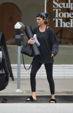 LISA RINNA Leaves Yoga Class in Los Angeles 05/31/2017