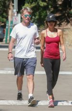 LISA RINNA Out for a Hike in Beverly Hills 06/25/2017