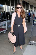LISA VANDERPUM at LAX Airport in Los Angeles 06/15/2017