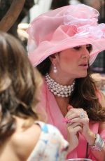 LISA VANDERPUMP at Sunday Brunch at Pump in Los Angeles 06/11/2017