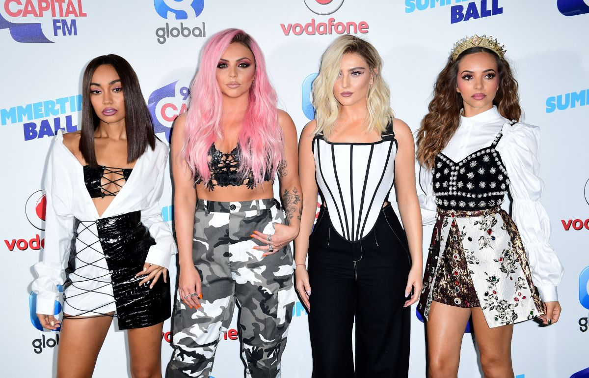 LITTLE MIX at Capital's Summertime Ball in London 06/10/2017