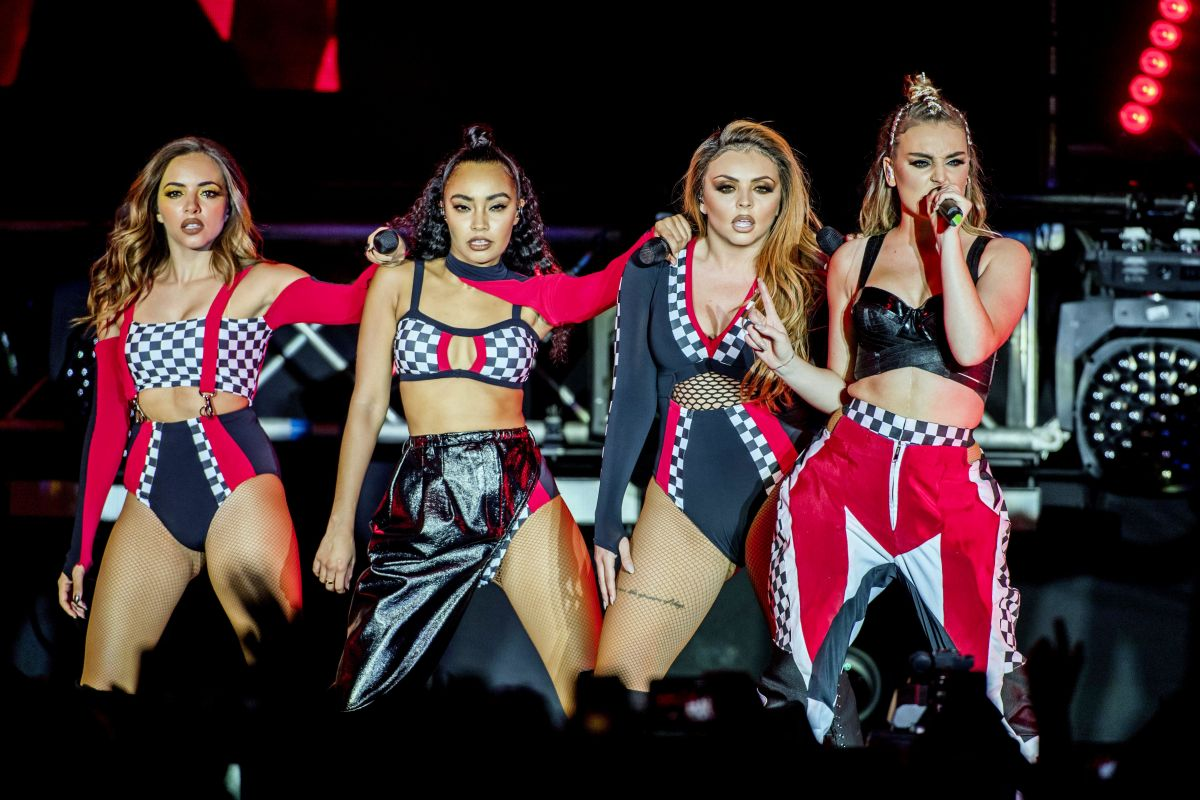 LITTLE MIX Performs at The Glory Days Tour in Stockholm 06/06/2017