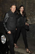 LIV TYLER and Dave Gardner Leaves Chiltern Firehouse in London 06/16/2017
