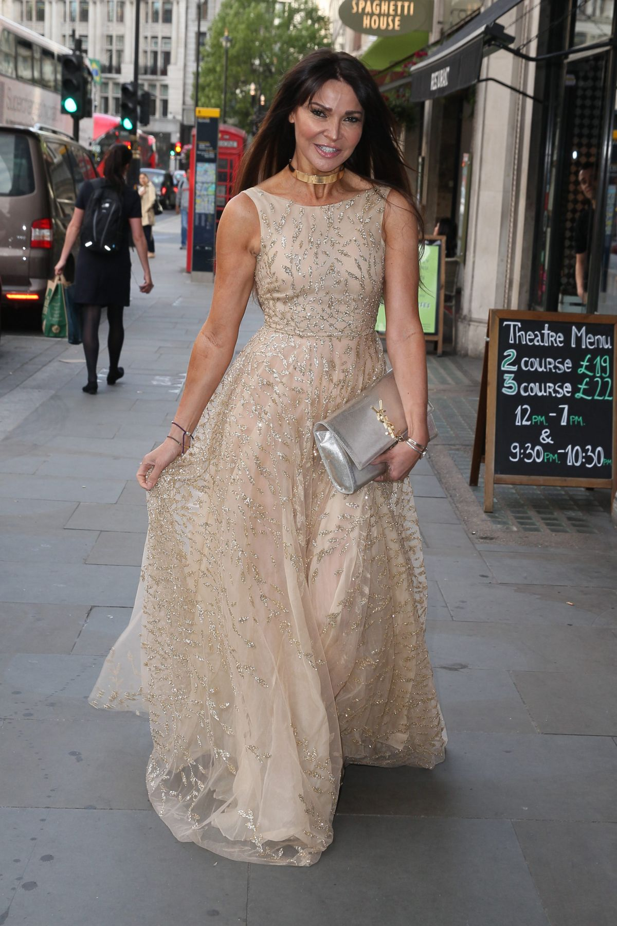 LIZZIE CUNDY Arrives at Dangerous Game Premiere in London 06/15/2017