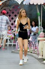 LILY-ROSE DEPP Out at Disneyland in Los Angeles 06/16/2017