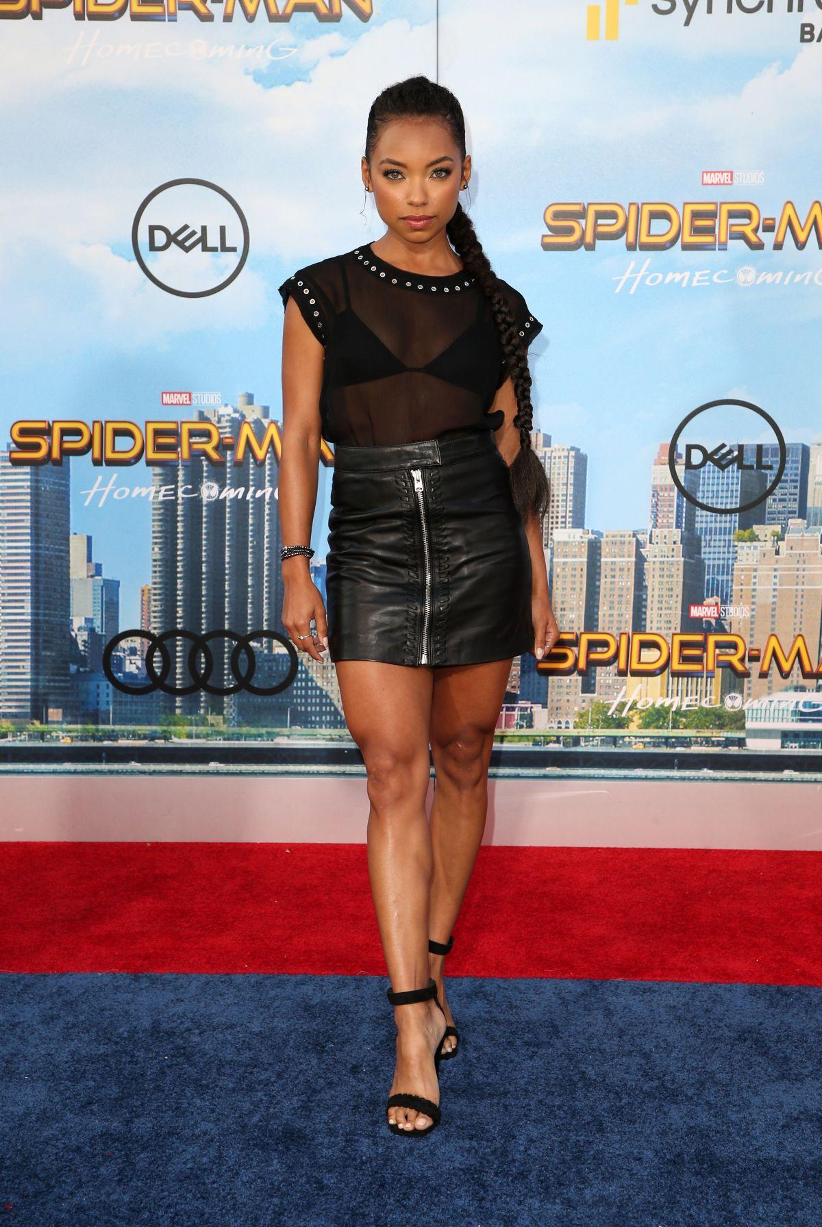 LOGAN BROWNING at Spiderman: Homecoming Premiere in Los ...