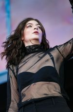 LORDE Performs at Governors Ball Music Festival in New York 06/02/2017