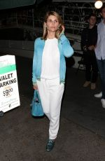 LORI LOUGHLIN at Madeo Restaurant in West Hollywood 06/05/2017
