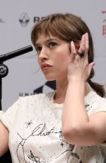 LOU DE LAAGE at Les Innocentes Panel at French Film Festival in Tokyo 06/24/2017