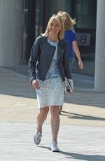 LOUISE MINCHIN Leaves a Studio in Manchester 06/20/2017