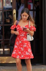 LOUISE THOMPSON Out and About in London 06/14/2017