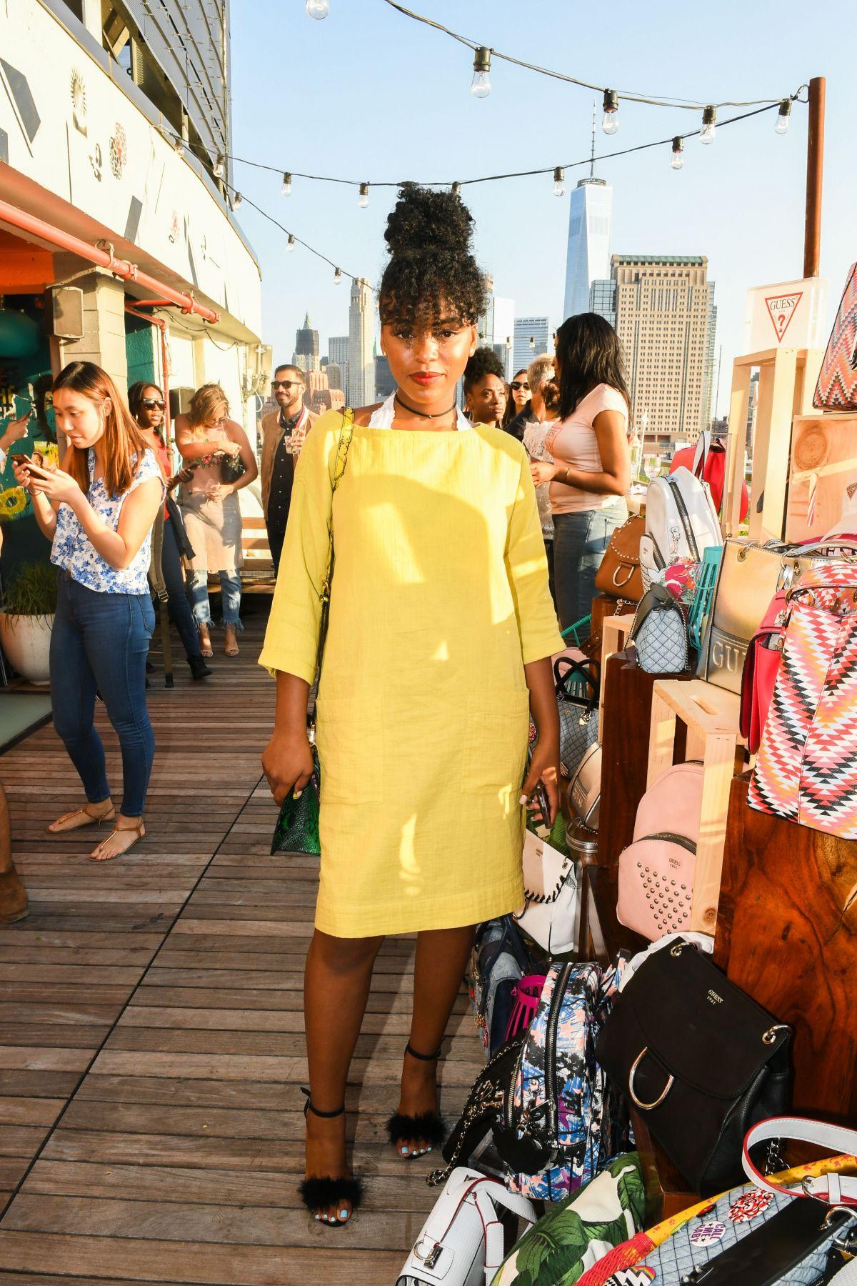LOVIE SIMONE at Guess Handbag Soiree in New York 06/15/2017