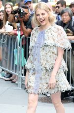 LUCY BOYNTON Arrives at AOL Build Speaker Series in New York 06/29/2017