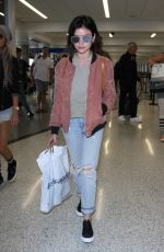 LUCY HALE at Los Angeles International Airport 06/04/2017