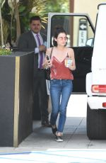 LUCY HALE at Roosevelt Hotel in Los Angeles 06/24/2017