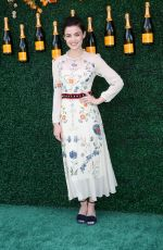 LUCY HALE at Veuve Cliquot Polo Classic in Jersey City 06/03/2017