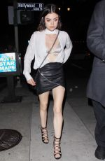 LUCY HALE Celebrates Her 28th Birthday at Viva Hollywood in Los Angeles 06/17/2017