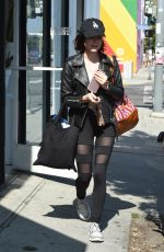 LUCY HALE Shopping at Reformation Store in Los Angeles 06/05/2017