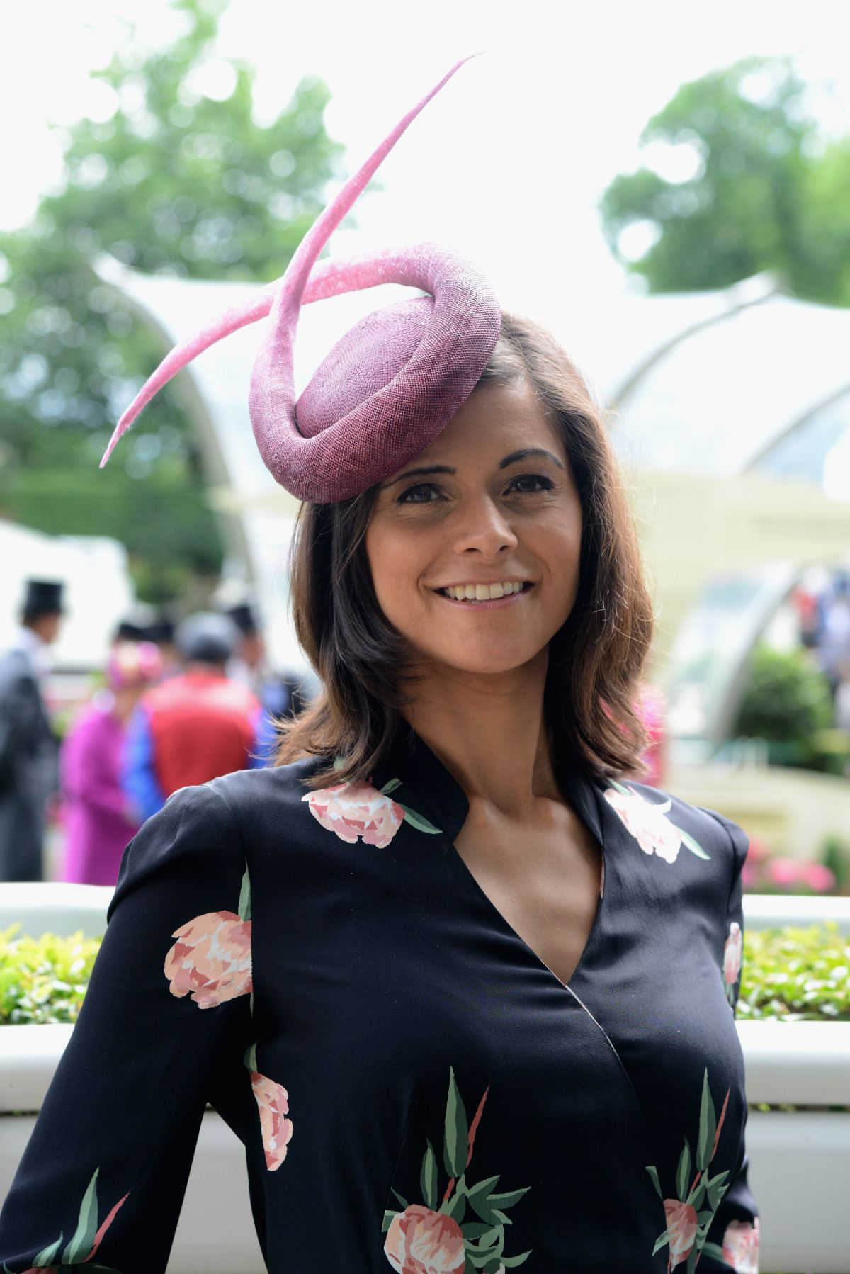 LUCY VERASAMY at Royal Ascot Races in Berkshire 06/22/2017