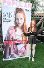 MADELAINE PETSCH at Popular Magazine and Wildfox Couture Cover Launch 06/12/2017