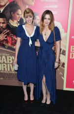 MADELINE ZIMA at Baby Driver Premiere in Los Angeles 06/14/2017