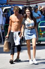 MADISON BEER Shopping at Flea Market in Los Angeles 06/12/2017