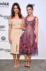 MADISON REED and VICTORIA JUSTICE at Amfar Generationcure Solstice in New York 06/20/2017