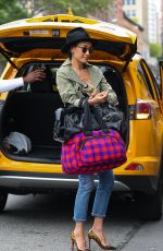 MAGGIE Q Out in New York 06/11/2017