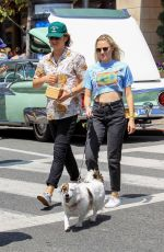 MAIKA MONROE Shopping at The Grove in Hollywood 06/03/2017