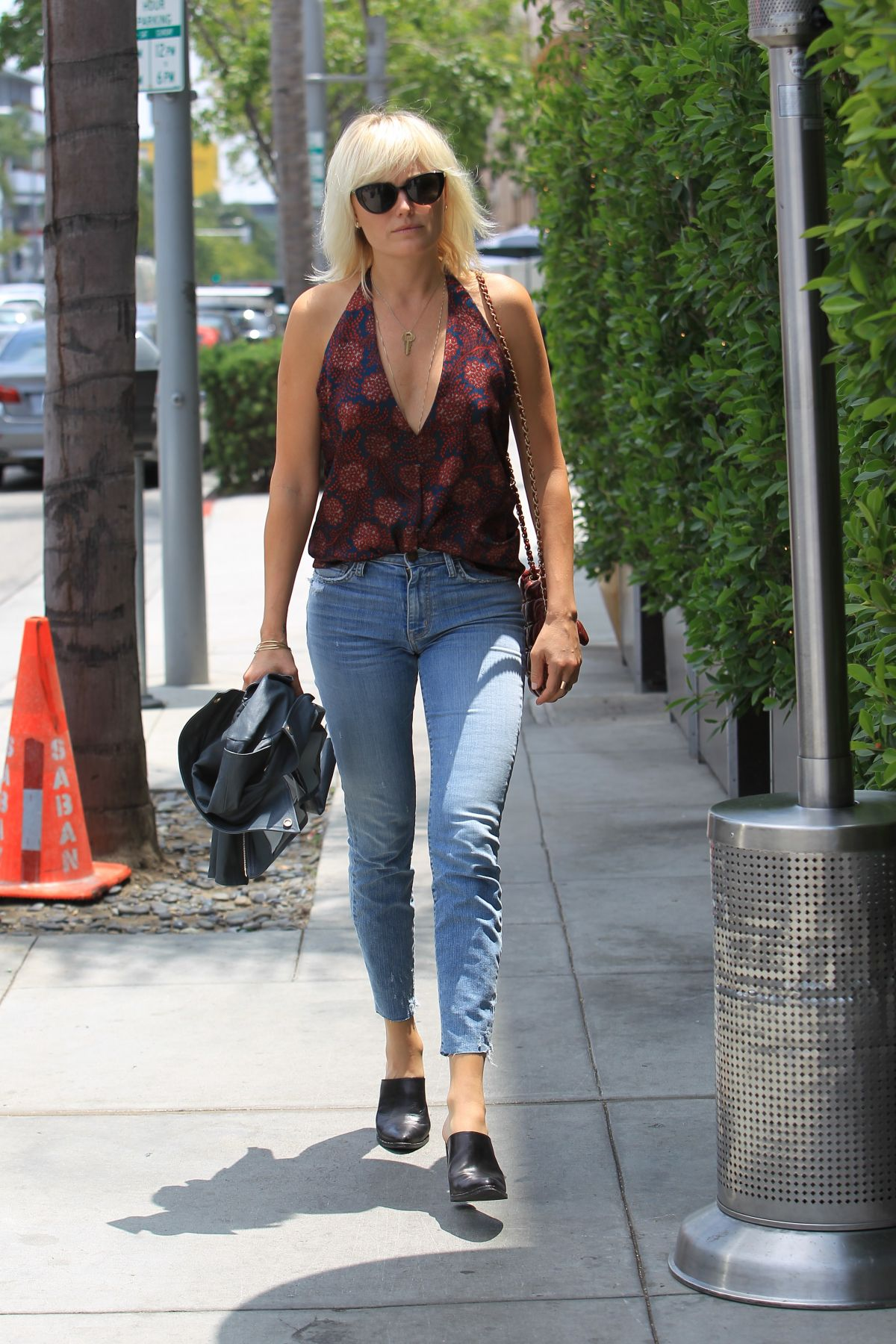 MALIN AKERMAN Out and About in Beverly HIlls 06/01/2017