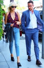 MALIN AKERMAN Out for Lunch in Beverly Hills 06/01/2017