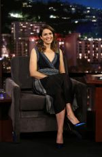 MANDY MOORE at Jimmy Kimmel Live 06/09/2017