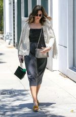 MANDY MOORE Out Shopping in Beverly Hills 06/14/2017
