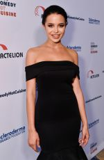 MARA TEIGEN at Cool Comedy, Hot Cuisine Fundraiser in Beverly Hills 06/16/2017