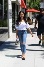 MARA TEIGEN Out Shopping in Beverly Hills 06/17/2017