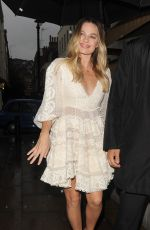 MARGOT ROBBIE Arrives at Lou Lou