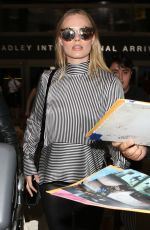 MARGOT ROBBIE at LAX Airport in Los Angeles 06/01/2017