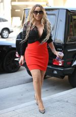 MARIAH CAREY Arrives at MGM Building in Beverly Hills 06/01/2017