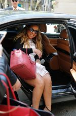 MARIAH CAREY Leaves Her Hotel in Barcelona 06/22/2017